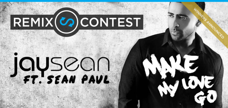 Jay Sean Remix Contest Announcement