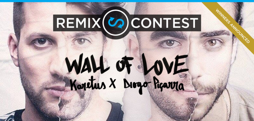 "Karetus ""Wall of Love"" ft. Diogo Piçarra Remix Contest! 