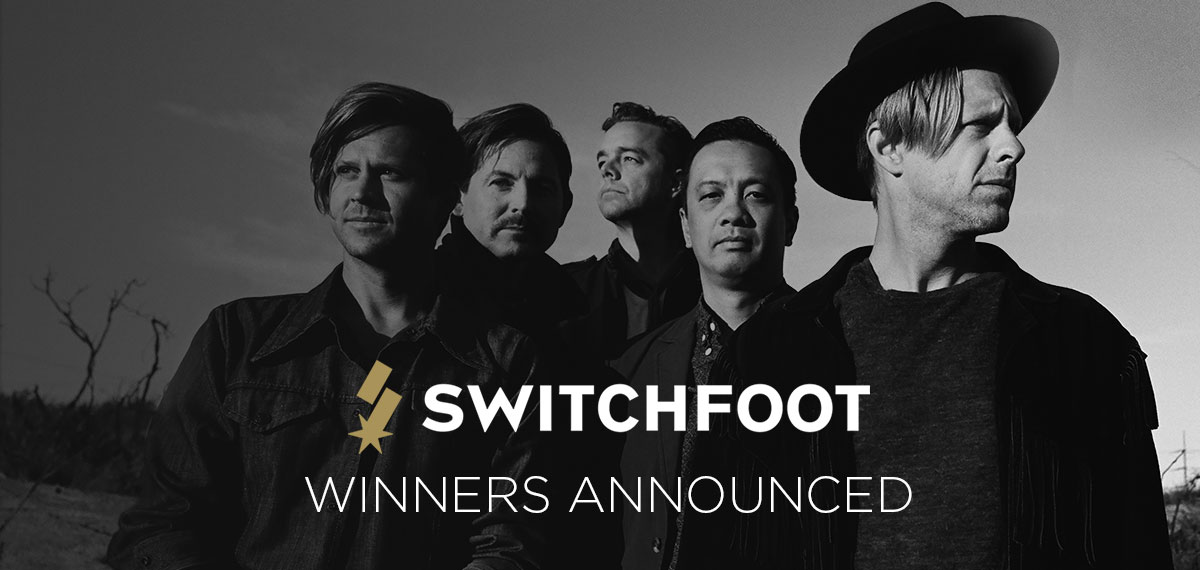 Switchfoot Remix Contest Winner Announcement